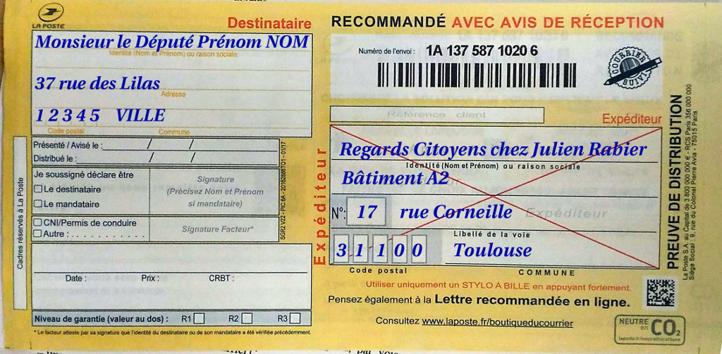 La www poste suivi courrier for Suivi de courrier demenagement la poste
